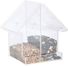 Combi Window Feeder House Acrylic - Transparent -