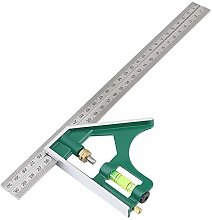 Combination Square Set, Multi-Functional 300mm