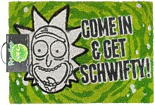 Come In And Get Schwifty Door Mat (One Size)