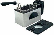 Comelec FR 3082 Electric Fryer, 2000 W, White Black