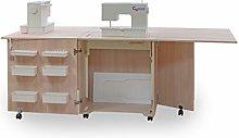 Comfort 1Q+ | Sewing Machine Cabinet Overlock Desk