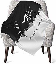 Comfort Baby Blanket, Black Panther Design Soft
