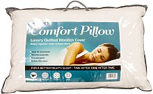 Comfort Luxury Quilted Wool Pillow, Standard