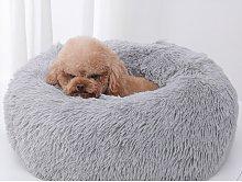 Comfortable Soft Plush Dog and Cat Basket Soft