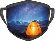 Comfortable Windproof mask,Camping Tent Under a