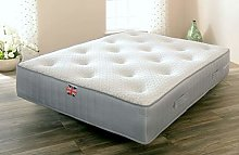 Comfy Living Sprung Mattress with Wool and Memory