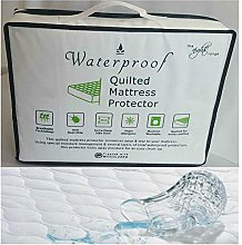 ComfyTrends Water Proof Quilted Mattress Protector