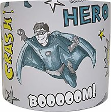 Comic Lampshade for A Ceiling Light Shade