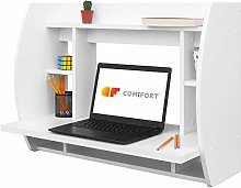 COMIFORT Wall-Mounted Desk - Floating Work Station