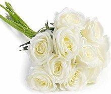 Comius Sharp 10 Pieces Artificial Roses, Rose