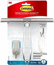 Command BATH32-SS-ES Shower Squeegee with