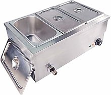 Commercial Bain Marie Food Warmer Stainless Steel