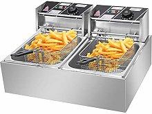 Commercial Deep Fat Fryer, 12.7QT/12L 5000W MAX