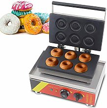 Commercial Donut Machine 6Pcs Doughnut Maker