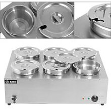 Commercial Electric Food Warmer Stainless Steel