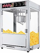 Commercial Electric Popcorn Maker, 1400w Automatic