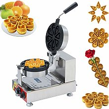 Commercial Electric Waffle Maker with Water Drop