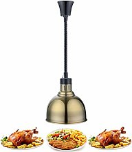 Commercial Heat Lamp Food Warmer Light with 25cm