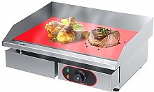 Commercial Large Electric Griddle Hot Cooking