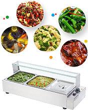 Commercial Steel Bain Marie Buffet Food Warmer