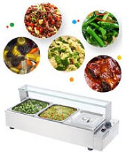 Commercial Steel Bain Marie Buffet Food Warmer