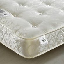 Compact Gold Tufted Orthopaedic Mattress - 3ft