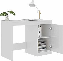 Compact Small Computer Desk, Laptop Desk with a