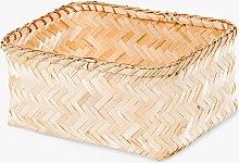 Compactor Bamboo Storage Basket, Large