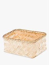 Compactor Bamboo Storage Basket, Large