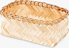 Compactor Bamboo Storage Basket, Small