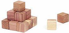 Compactor Moth Repellent Cedar Wood Cubes for