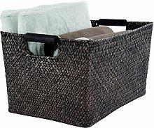Compactor Sampan Basket, Wood, Brown