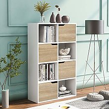 Compartment Bookcase Display Storage Rack Cube