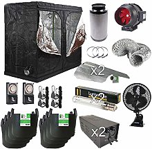 Complete Hydroponics Kit With Timer Box Dual