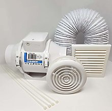 Complete Kit - High Power Shower Extractor Fan Kit