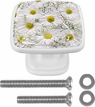 Composition of Daisies 3D Printed Drawer Knobs