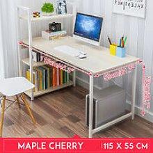 Computer Desk 115*55*73cm Maple Cherry Table