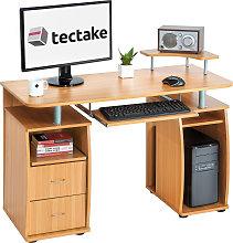 Computer desk 115x55x87cm - beech