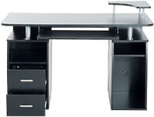 Computer Desk 120*55*85CM Black PC Table With