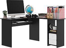Computer Desk 140cm PC Table Study Home Office