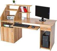 Computer desk 164.5cm - beech