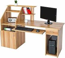 Computer desk 164.5cm - desk, office desk, PC desk