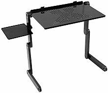 Computer Desk,Adjustable Folding Laptop Netbook
