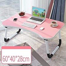 Computer Desk Bed Desk, Bedroom Laptop Desk,