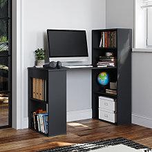 Computer Desk Black 120cm Table Home Study Office