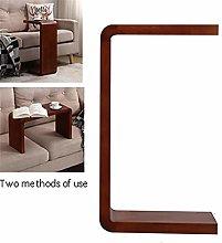 Computer Desk,Coffee Table Solid Wood U Type,