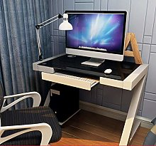 Computer desk Computer Desk PC Desktop Glass Top