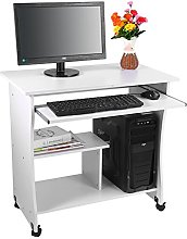 Computer Desk, Durable Anti‑mildew Movable