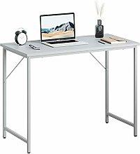 Computer Desk for Home,Simple Wood Office Desk for