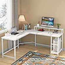 Computer Desk Gaming Desk L-Shaped Writing